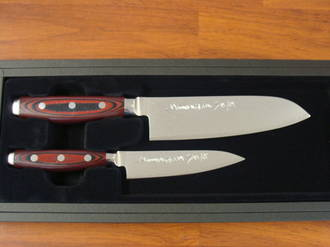 Super GOU Japanese Damascus 2PC Gift Set