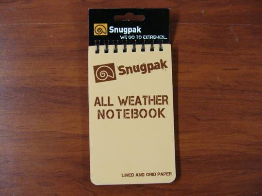 "All Weather Notebook Notebook 3"" x 5"" Tan"