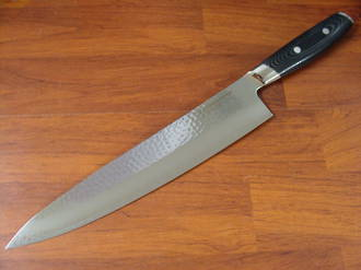 Tsuchimon Damascus VG-10 Chef's Knife 255mm - 3 Layers