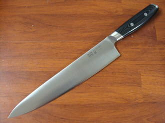 Mon Japanese Damascus VG-10 Chef's Knife 255mm - 3 Layers