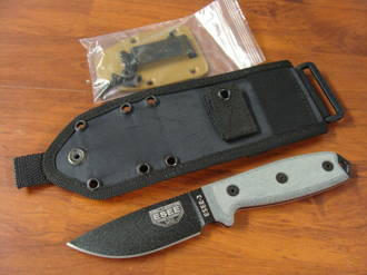 ESEE Model 3 Standard Edge Knife w/ kydex sheath RC3PMB
