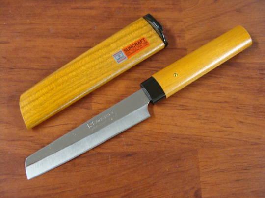Due Cigni Japanese Kakugata Kitchen Knife 95mm