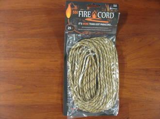 550 Fire Cord / Firecord 25ft - Desert Storm