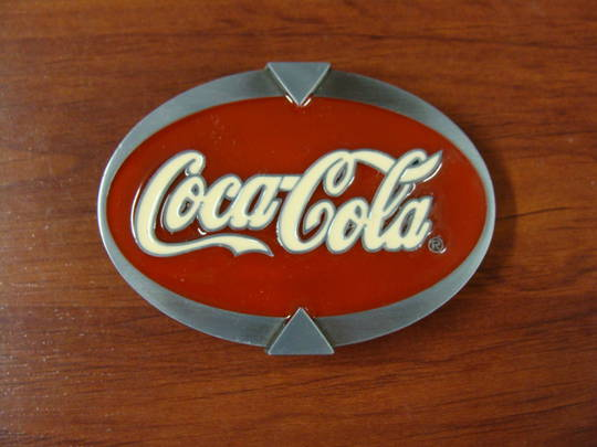 GIFTZONE - COCA COLA BUCKLE WITH $120 PURCHASE