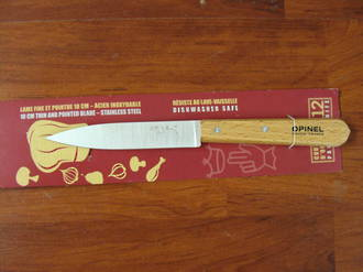 Opinel Beechwood handle Paring Knife