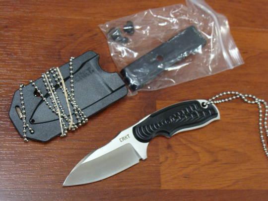 CRKT Flavio Ikoma Civet Neck Knife w/ Sheath