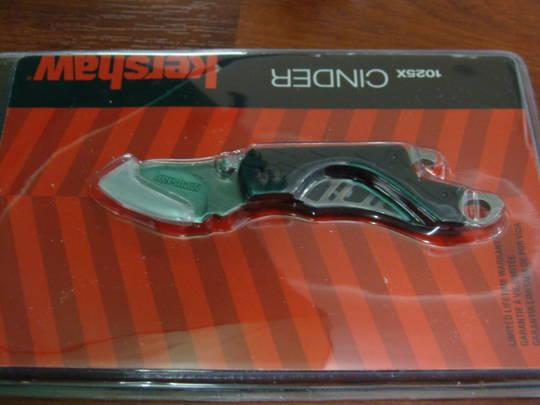 Kershaw CINDER Folding Knife - 1025