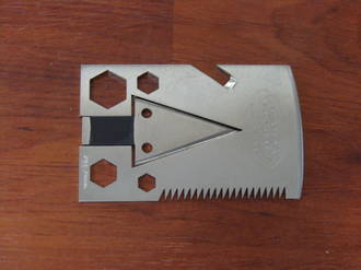 Survco Tactical Credit Card Axe 21 Fuctions