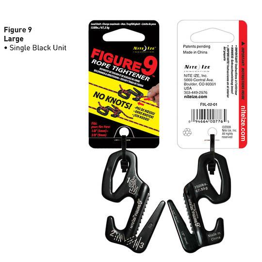 Nite Ize Figure 9 Large Black