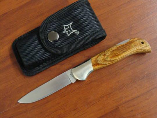 Fox Knives Forest Pakkawood Folding Knife FX500