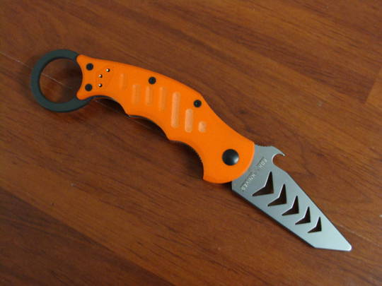 FOX Knives DART Tanto Orange G10 Trainer Emerson Wave FX597TK