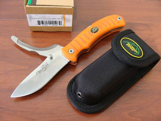 Outdoor Edge Flip n' Blaze Easy to Locate Knife