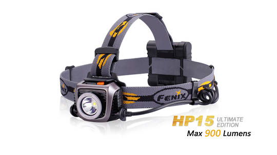 Fenix 900LM Headlamp HP15UE - Black