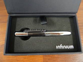 Fisher Space Pen Black Titanium Nitride and Chrome - INFBTN-1