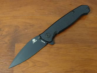 KA-BAR TDI Law Enforcement Flipper Knife Black G10 and Stainless Steel Handles