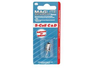 Maglite Magnum Star Xenon 5 Cell C / D Bulb x2
