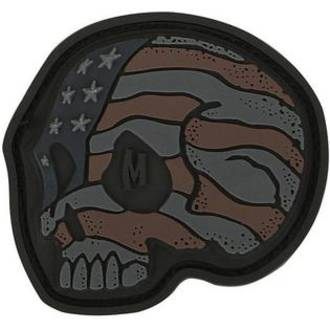MAXPEDITION Stars and Stripes Skull Morale Patch