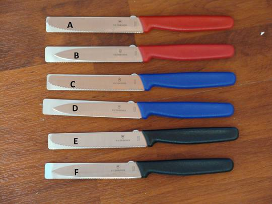 2 X Victorinox Paring Knife 10cm/11cm - 6 Choices