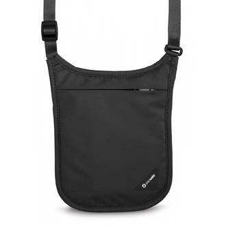 Pacsafe Coversafe V75 - RFID blocking neck pouch Black