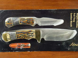 Schrade Uncle Henry Combo Knife Set