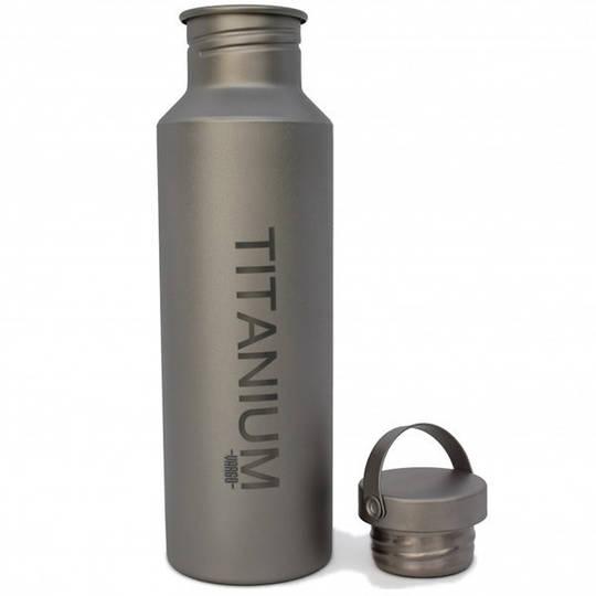 Vargo Titanium Water Bottle w/TI Lid, 650 ml