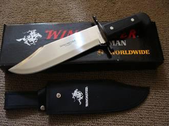 Winchester Black Bowie Knife - Sheath