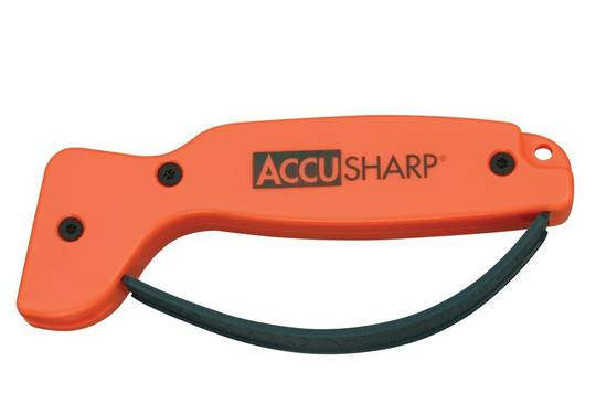 Accusharp Knife & Tool Sharpener Orange