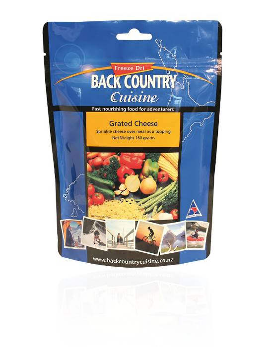 Back Country Cuisine Grated Cheese