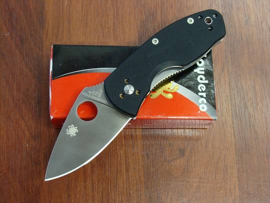 Spyderco Ambitious G-10 Folding Knife