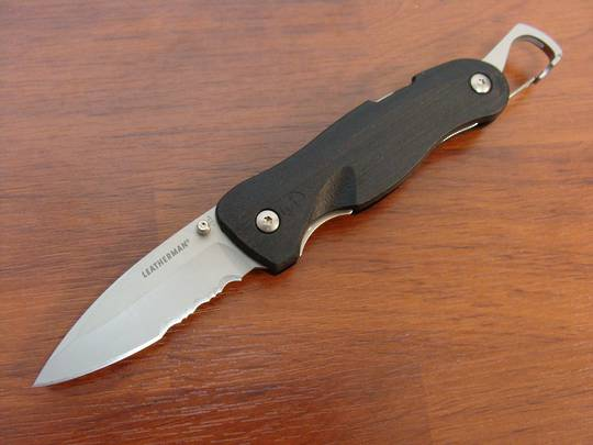 Leatherman Crater C33x Combo Folding Knife