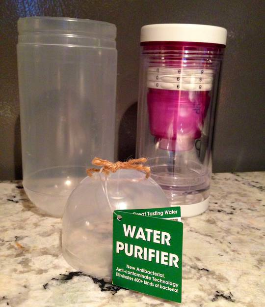 Purificup Natural Water Purification