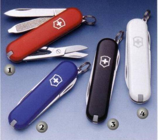 Victorinox Classic SD Swiss Army Knife many colours w/ Leather Pouch