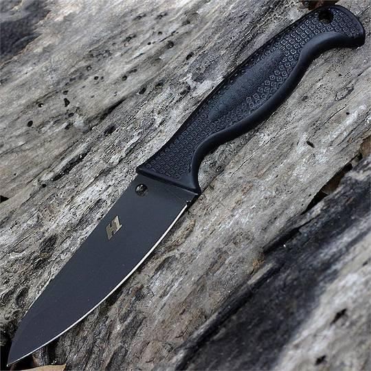 Spyderco Aqua Salt Fixed H1 Black Plain Blade