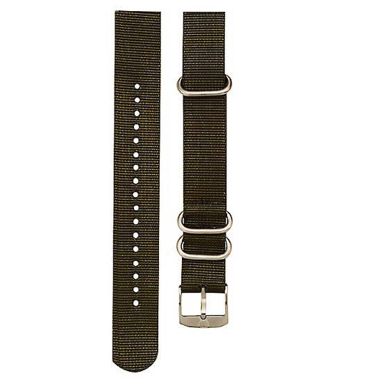 Luminox Military Nato Strap Green 3-Loop Band