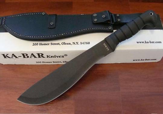 Ka-bar Cutlass Machete & Condura Sheath - 1248