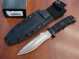 SOG Ops Fixed Knife w/ Kydex Sheath