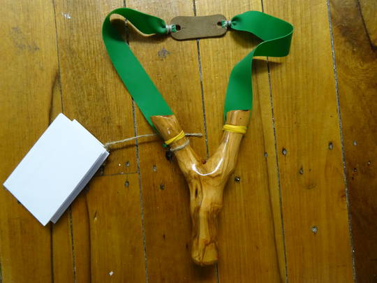 Nosferatu Bespoke Slingshots Handmade Natural Fork - N8