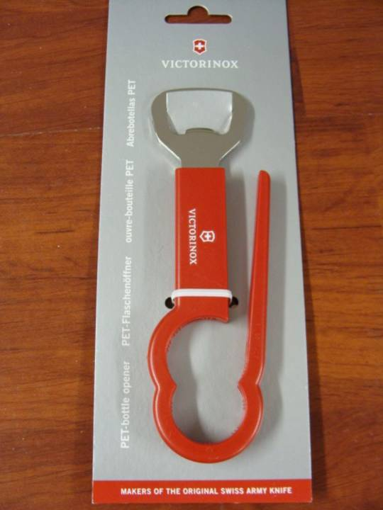 Victorinox PET Bottle Opener - Red