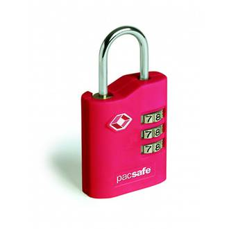 Pacsafe Prosafe 700 - TSA combination lock Red