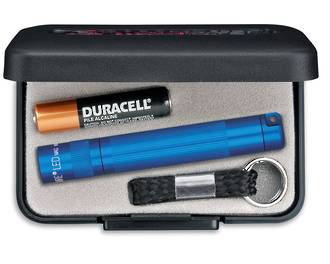 2x Maglite Solitaire Torch - Blue