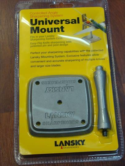 Lansky Universal Mount for Sharpening System