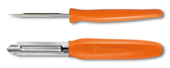 Wusthof Peeler fixed blade - Orange