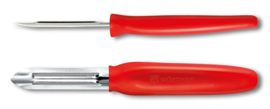 Wusthof Peeler fixed blade - red