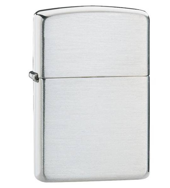 Zippo Armor Brushed Sterling Silver Lighter  - 27