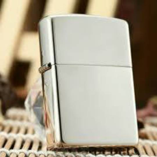 Zippo High Polish Sterling Silver Lighter  - 15