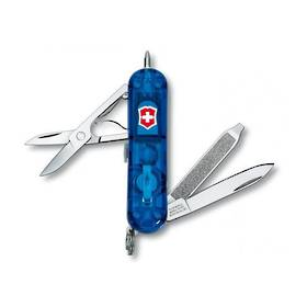 Victorinox Signature Lite Swiss Army Knife - BlueTransparent
