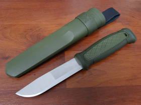 Mora Kansbol Utility Fixed Knife OD Green - 12634