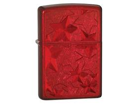 Zippo Iced Star, Candy Apple Red Lighter