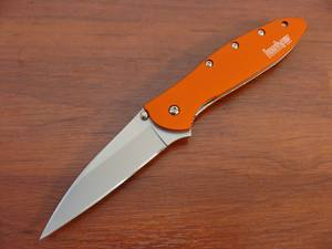 Kershaw Leek A/O Folding Knife - Orange