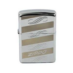 Zippo Lighter Silver Windswept Lighter